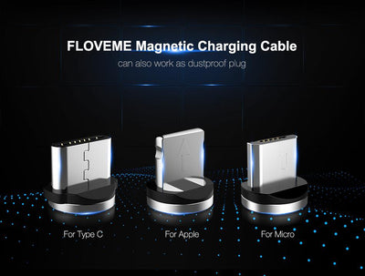 FLOVEME- NEW Magnetic Charger Cable - Craftted