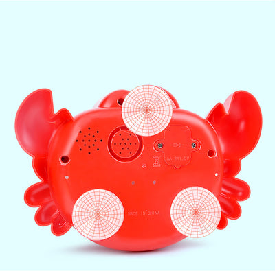 Singing Crab Bubble-Maker! - Craftted