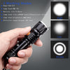Waterproof USB Rechargeable Flashlight - Craftted