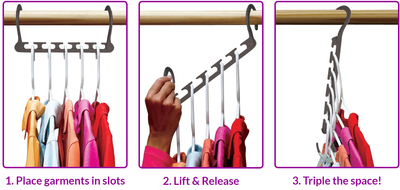 Magical Helper Hanger - Organise Your Wardrobe!
