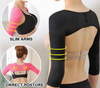 Premium 2in1 Arm Slimming Sleeves & Posture Corrector! - Craftted
