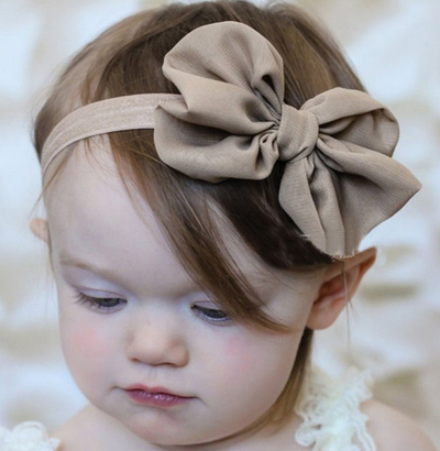 Adorable Toddler Bow-Knot Headband - Craftted