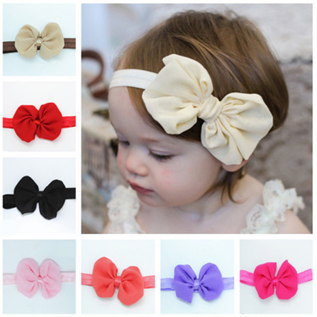 Adorable Toddler Bow-Knot Headband-HeadBand-Craftted