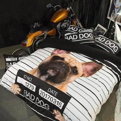 Bad Dog Duvet Set - Craftted