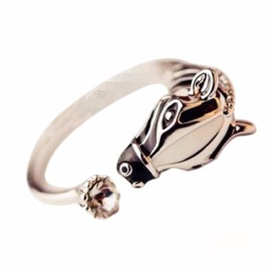 Cute Adjustable Zebra Ring - Craftted