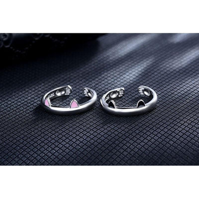 Cute Cat-Ears Ring - Craftted