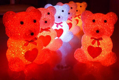 Cute Mini Bear Light - Color Changing! - Craftted