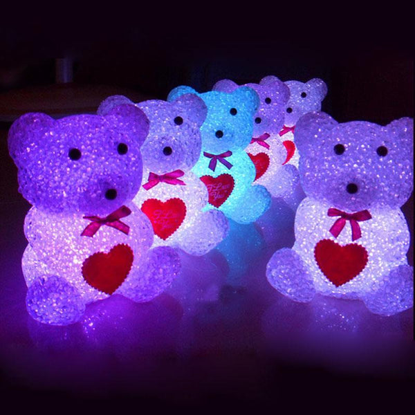 Cute Mini Bear Light - Color Changing!
