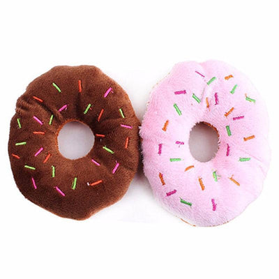 Doughnut Squeaker Toy - Craftted
