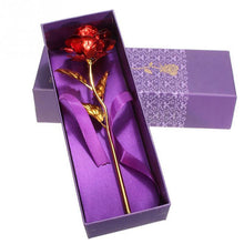 Gold Dipped Rose - Gift Box & Bag - Craftted