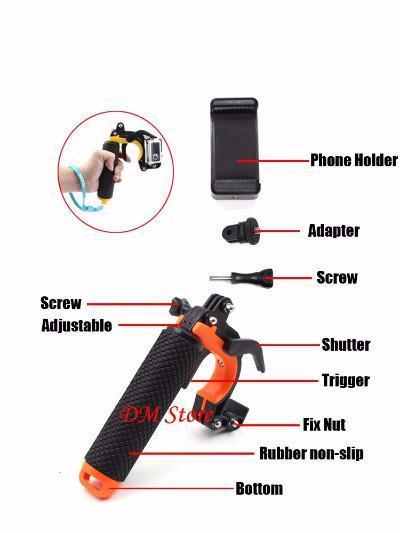 GoPro Camera Stabilizer - Pistol Trigger - Craftted