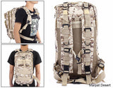 Outdoor Backpack-Tactical Outdoor Backpack-Craftted