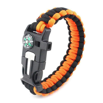 Paracord Survival Bracelet With Compass! - Craftted