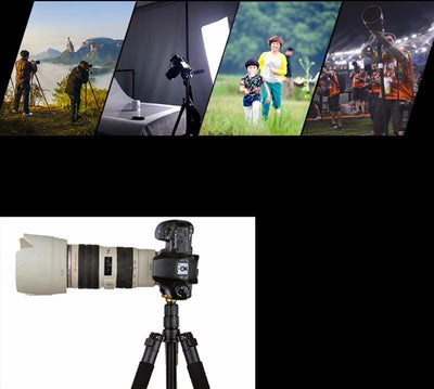 Professional Portable Tripod/Monopod with FREE Gifts Inside! - Craftted