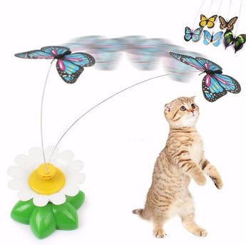 Rotating Cat Toy-Cat Toy-Craftted