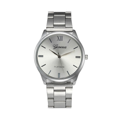 Stunning Silver Link Watch - Craftted