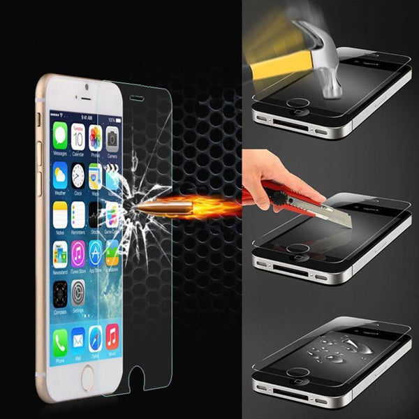Tempered Glass Screen Protector-Tempered Glass Screen Protector-Craftted