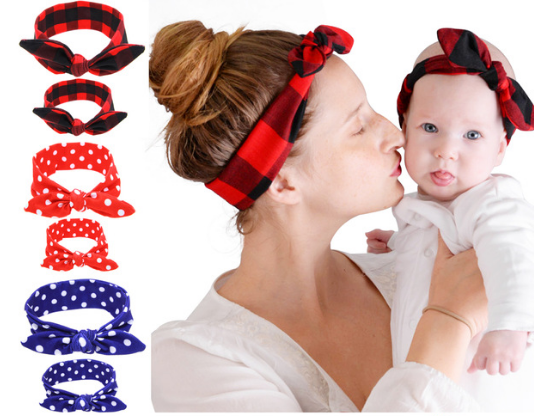 Two-Piece Parent-Toddler Matching Headbands - Craftted