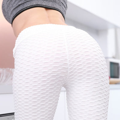 Premium Mesh Push Up Leggings - Lift, Shape & Go!
