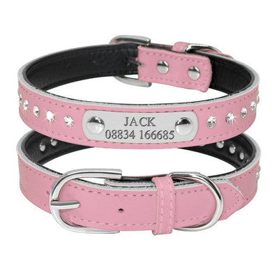 Customize Your Pet Collar - Name & Contact Number - Craftted