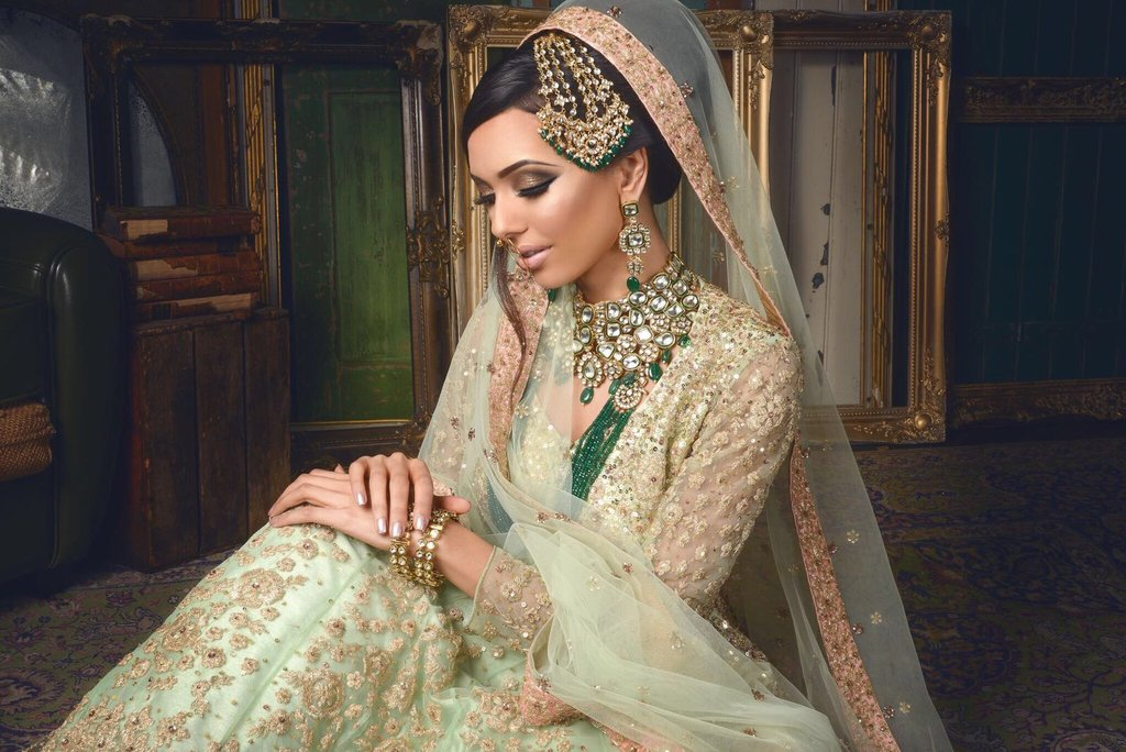 98dd6bfa3dc Pakistani Bridal Dress Trends that took 2017 by Storm – Saiqa Majeed
