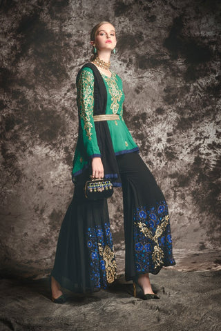 model-wearing-bridal-lehnga