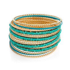New Turquoise Bangles