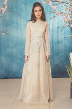 Natasha Dress Beige