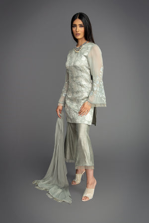 Brocade Tunic Nalki Suit