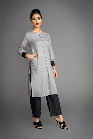 Grey Shadow Dress Suit
