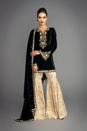 Savannah Gharara Suit
