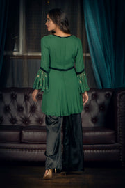 pareeez peplum sharara