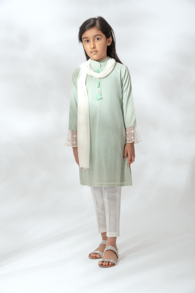 Kids Mint Dia Suit