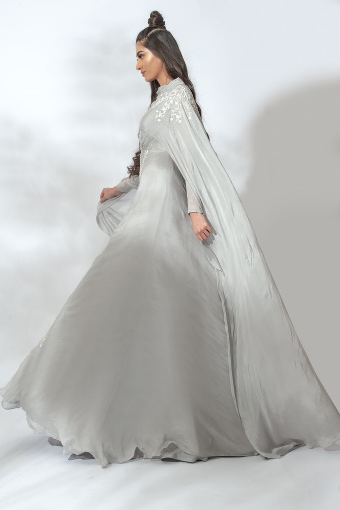 Vogue Cape Dress