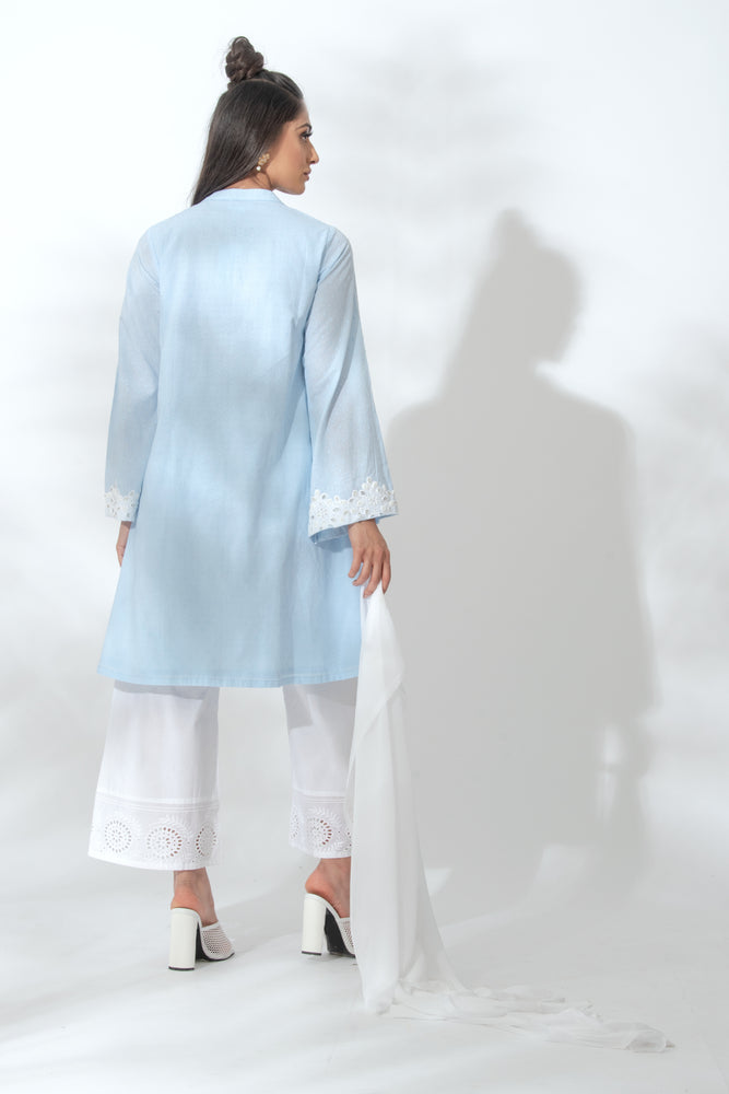 Alexis Blue Kurta Suit