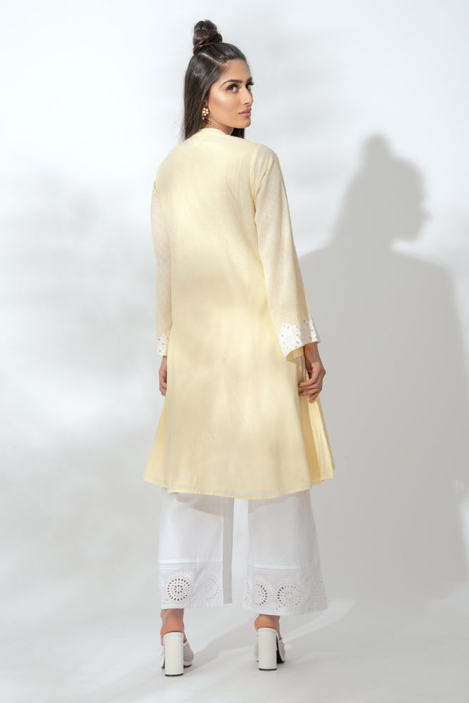 Alexis Yellow Kurta Suit