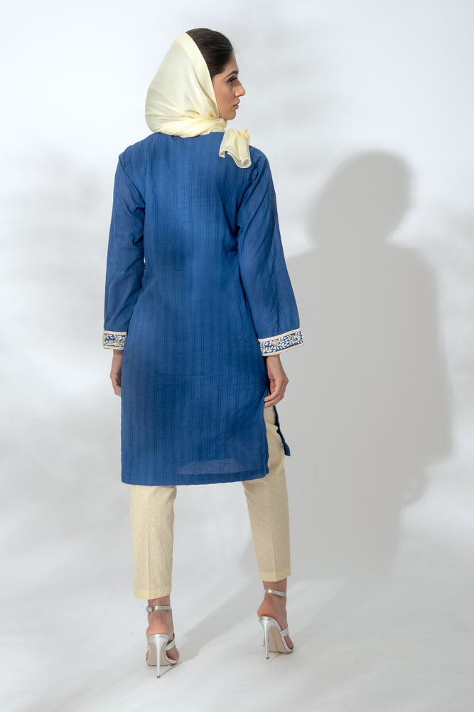 Daisy Navy Tunic Suit