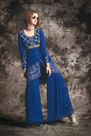 Rehana Sharara Dress