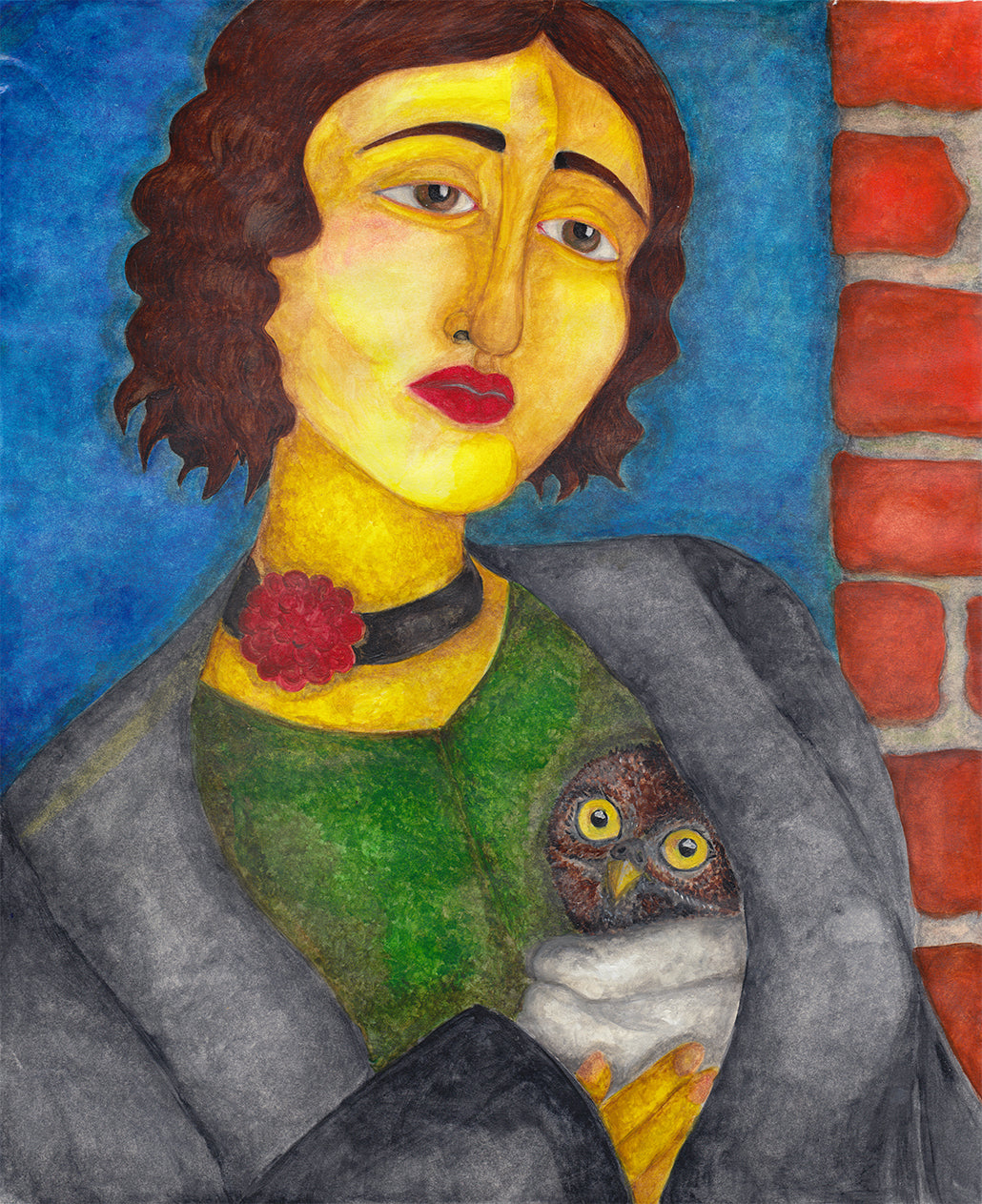 Woman With Owlet
