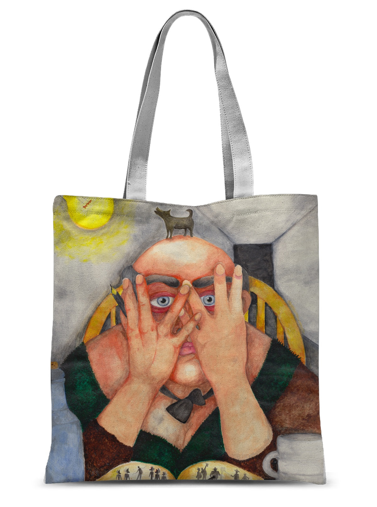 The Writer Sublimation Tote Bag