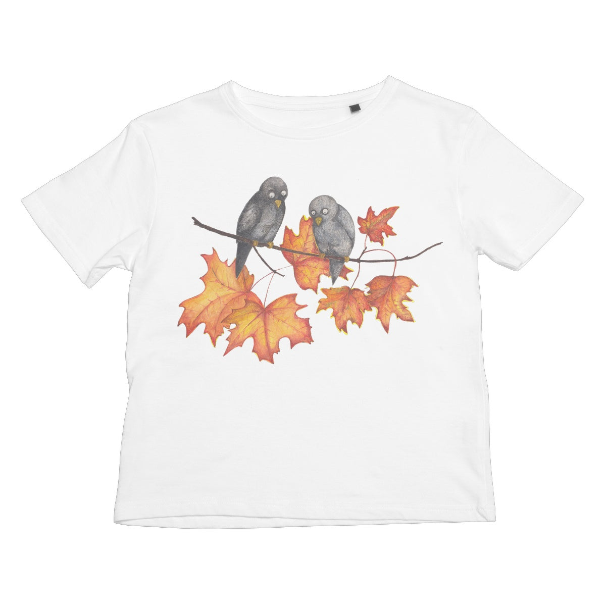 Birds on Fall Branch Children's Tee