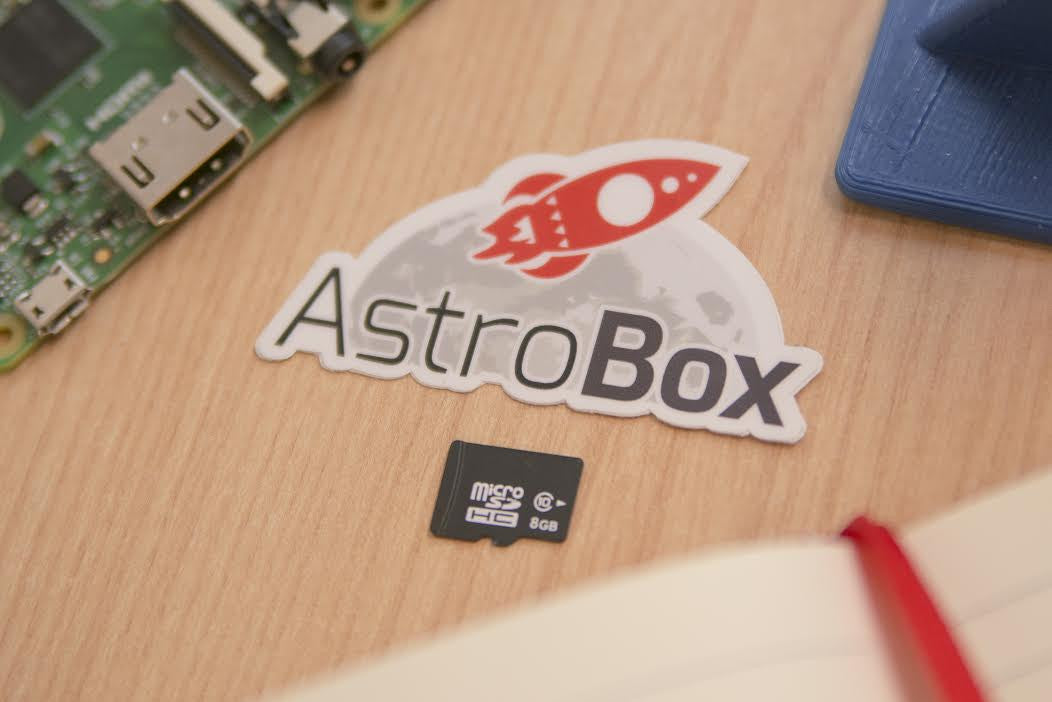 AstroBox™ 8GB Pre-flashed microSD Card with the latest AstroBox software