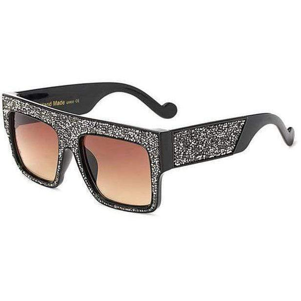 Chloe Sunglasses Black Brown at Fashions Queen