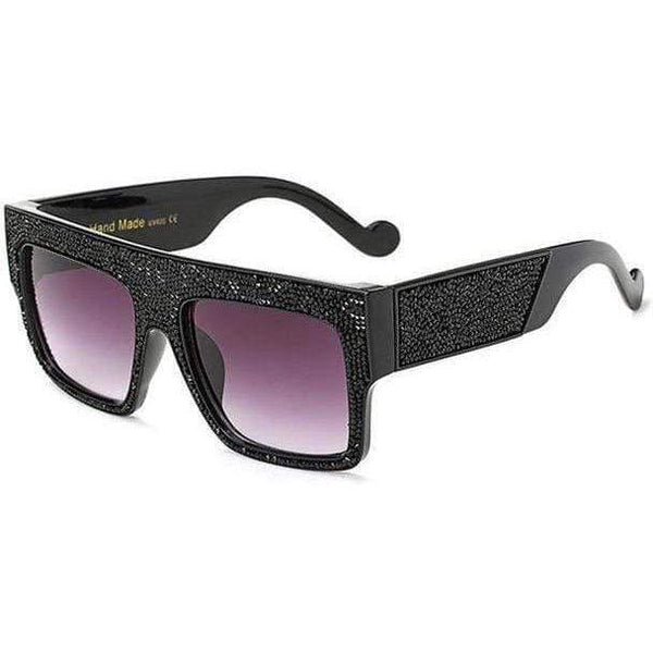 Chloe Sunglasses Black Grey at Fashions Queen