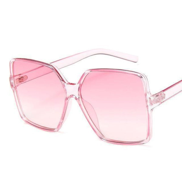 Garciela Oversized Square Sunglasses Pink at Fashions Queen