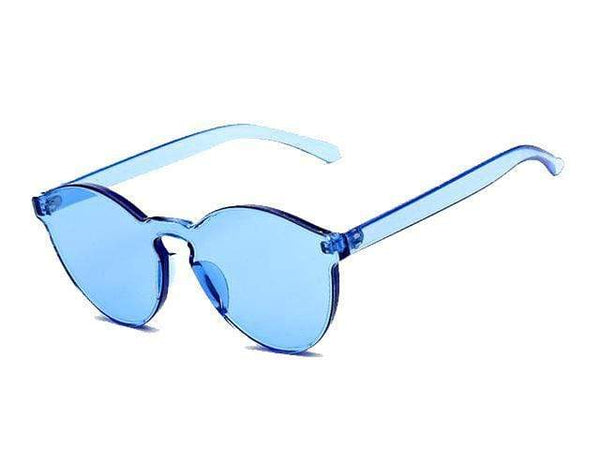 Jaydah Sunglasses Blue at Fashions Queen
