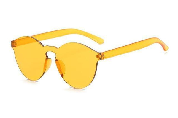 Jaydah Sunglasses Yellow at Fashions Queen