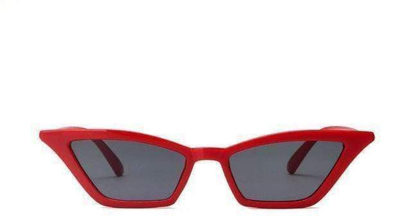 Maria Sunglasses Red Grey at Fashions Queen