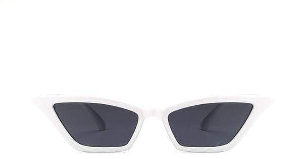 Maria Sunglasses White Grey at Fashions Queen