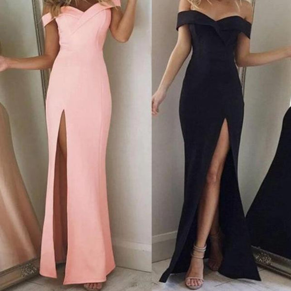 Noemi Off Shoulder Strapless Maxi Dress at Fashions Queen